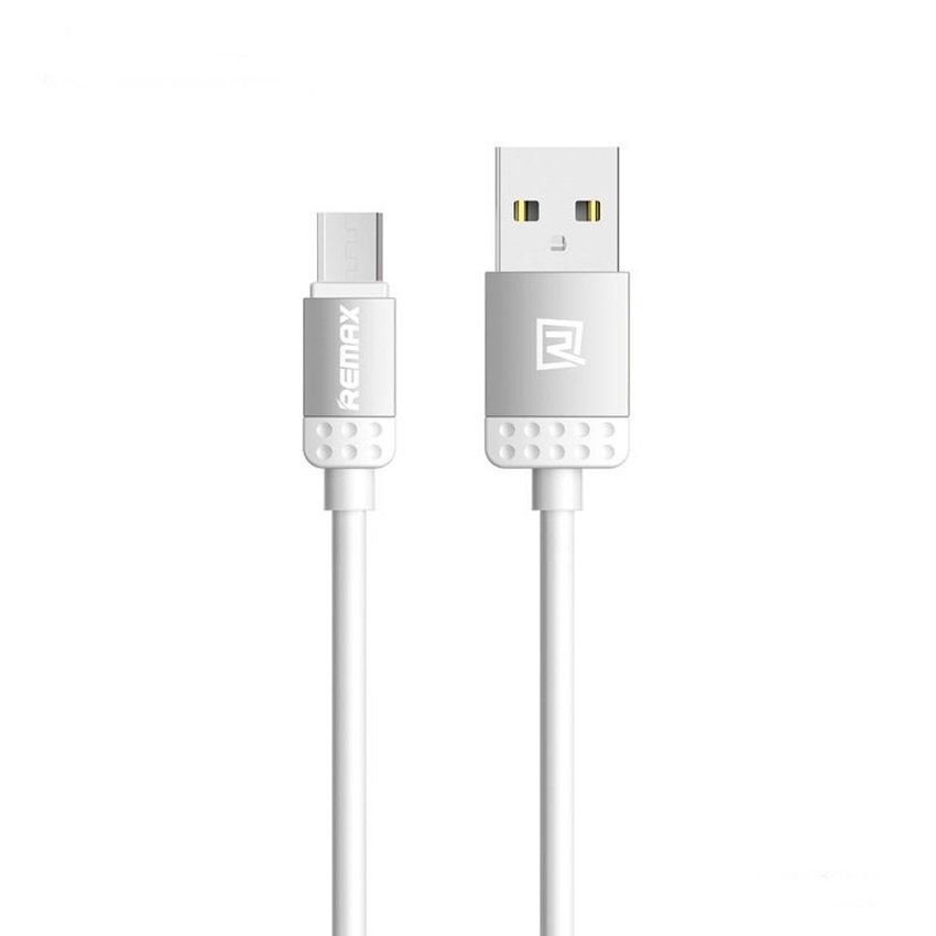 Remax Micro USB 2.0 Kabel Data and Charge Lovely Quick Charge Cable - Silver