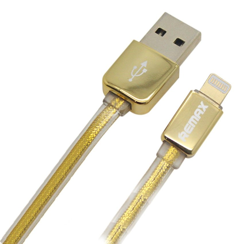 Remax Premium Gold Iphone 5 Lightning Cable