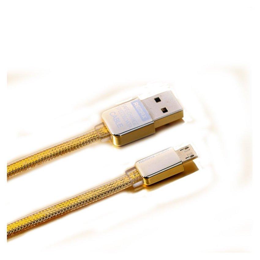 Remax Premium Micro Usb Cable - Gold