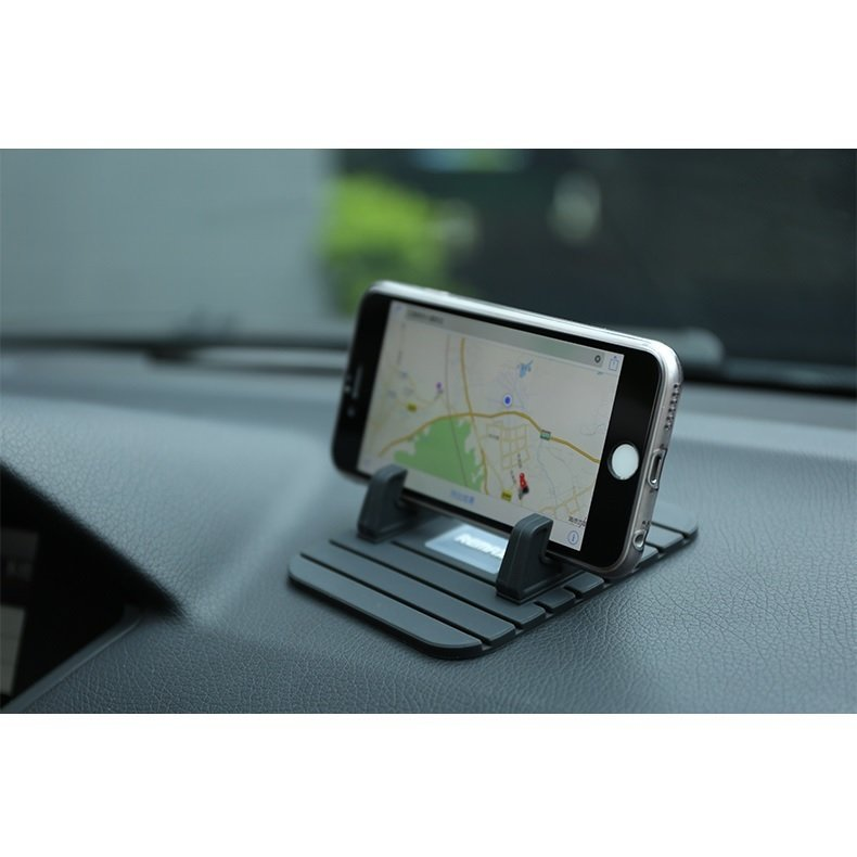Remax Proda Super Flexible Car Holder - Hitam-Hijau