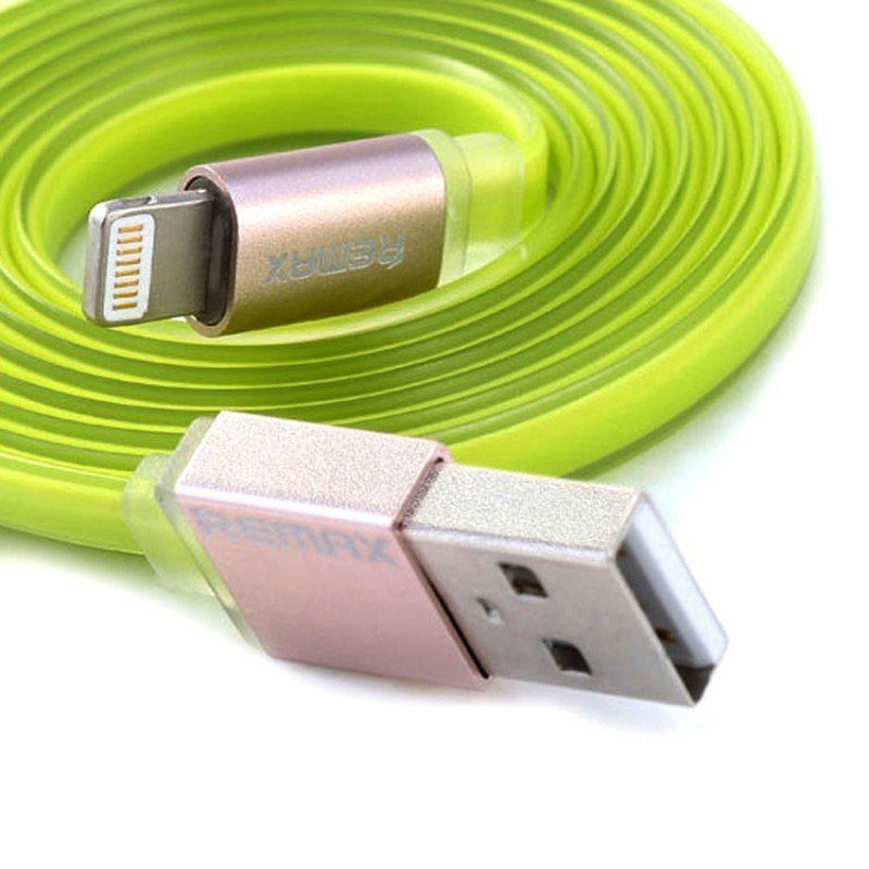 Remax Quick Cable Kabel Data & Charger iPhone 5/6 - Hijau
