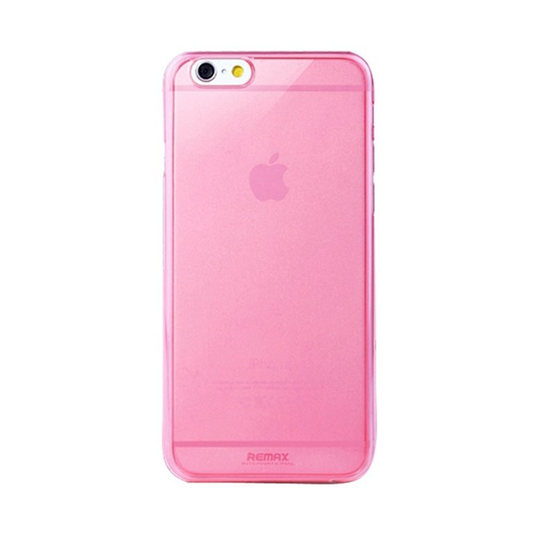Remax Super Slim Creative Case Soft Shell for iPhone 6 - Pink