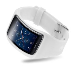 Replacement Band Bangle Bracelet Wristband For Samsung Galaxy Gear S SM-R75 White - Intl