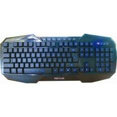 Rexus Keyboard Gaming K1 Extream + Gratis Sades Headset Gaming Extream + Mouse Gaming Rexus G7 - Hitam