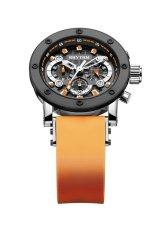 Rhythm I1203.08 - Jam Tangan Pria - Rubber - Orange Black