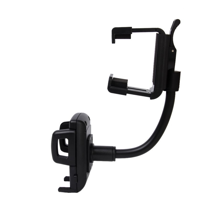 RIS Car Mirror Mount Holder for Cell Phone (Black) (Intl)