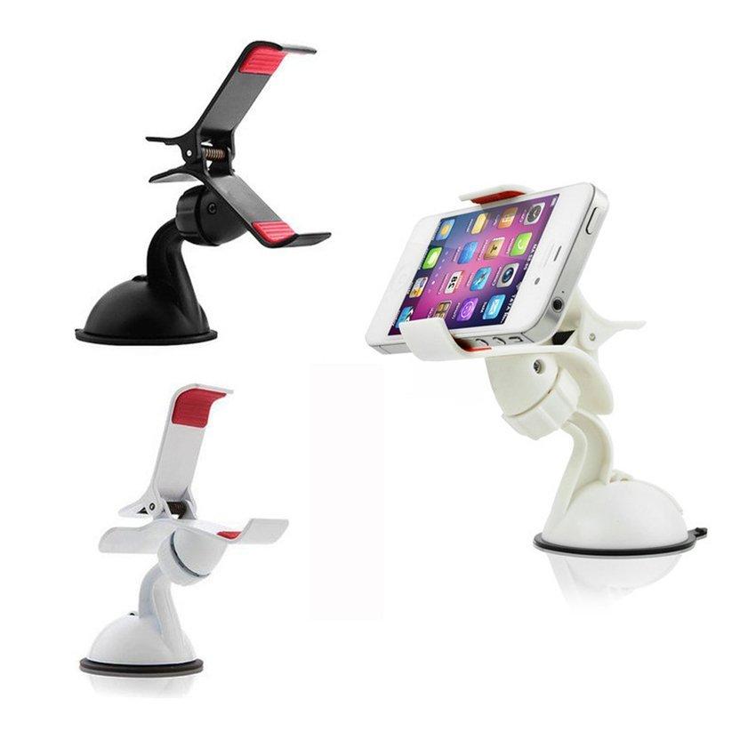 RIS Car Window Mount Holder for Smart Phones (White) (Intl)