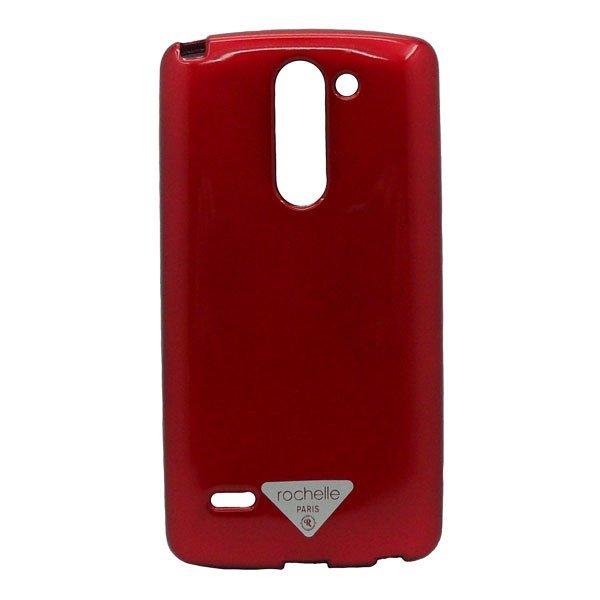 Rochelle Silicon Case LG G3 Stylus - Merah