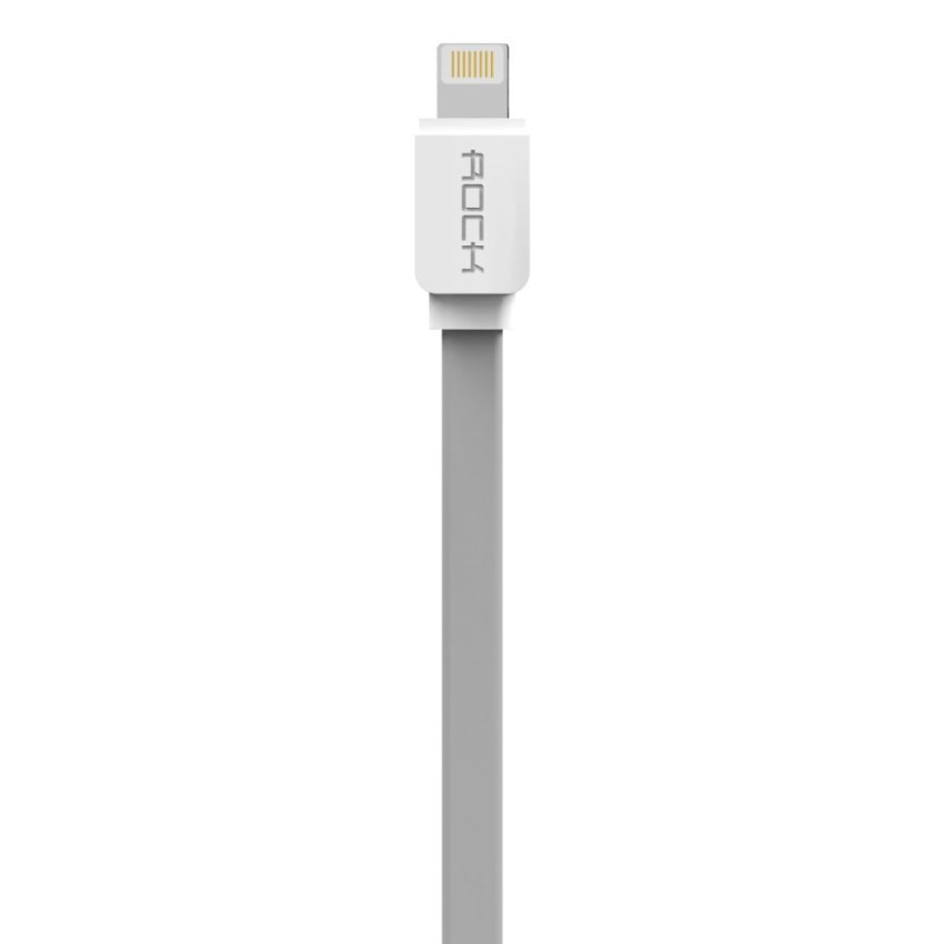 Rock 100cm USB Data Sync Charging Cable for iPhone 5S 6S Plus iPad 4 5 6 Mini 2 3 Air 2 (Grey) (Intl)