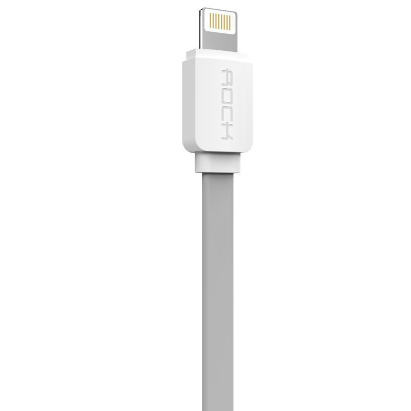 Rock 32cm Lightning quick charging usb cable sync data line for iPhone 5/5s/6/6plus / iPad device (Grey) (Intl)