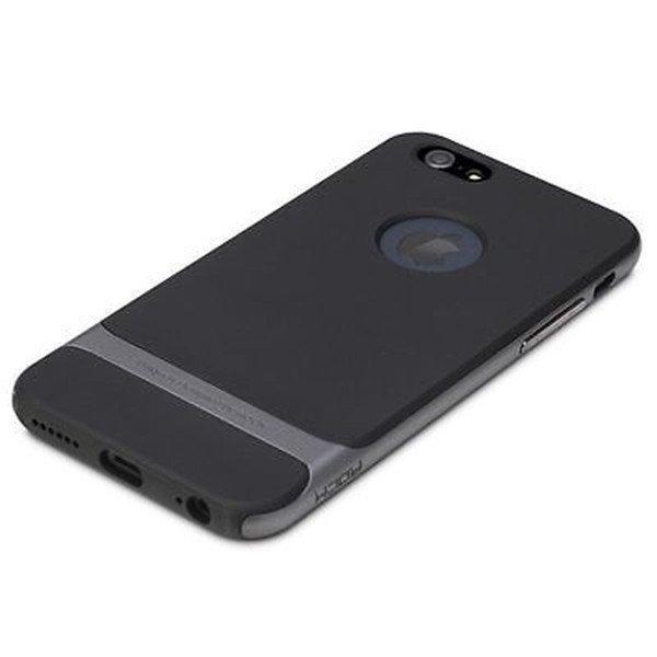 Rock Hybrid Shockproof Hard Case for iPhone SE / 5S / 5 (Grey)
