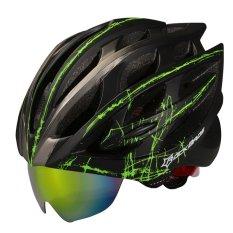 RockBros Helmet 57cm-62cm WT055 Unisex Road Bike MTB Cycling Helmet Black - Intl