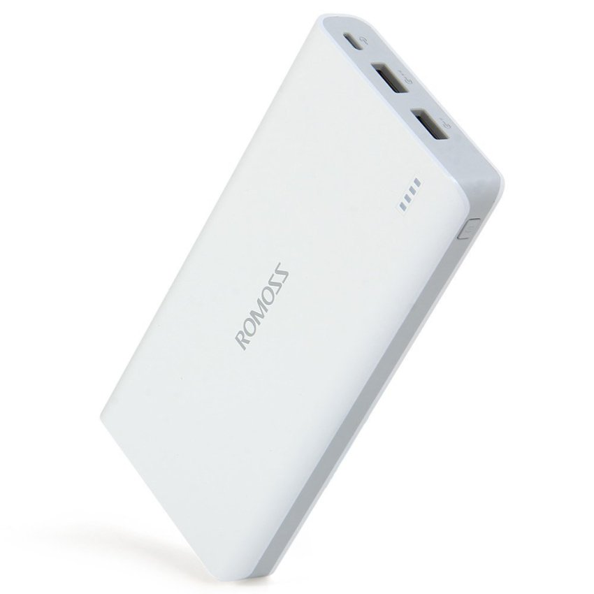 ROMOSS 16000mAh Portable Charger External Battery (White) (Intl)