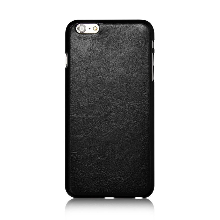 Roybens Leather 9 Card slot Wallet Magnetic Detachable Flip Stand Cover for iPhone 6/6S Black (Intl)