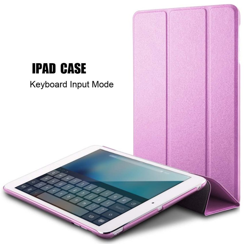 Roybens Leather Flip Protective Tablet Stand Ultra Slim Cover for Apple iPad Pro 12.9 inch (Pink) (Intl)