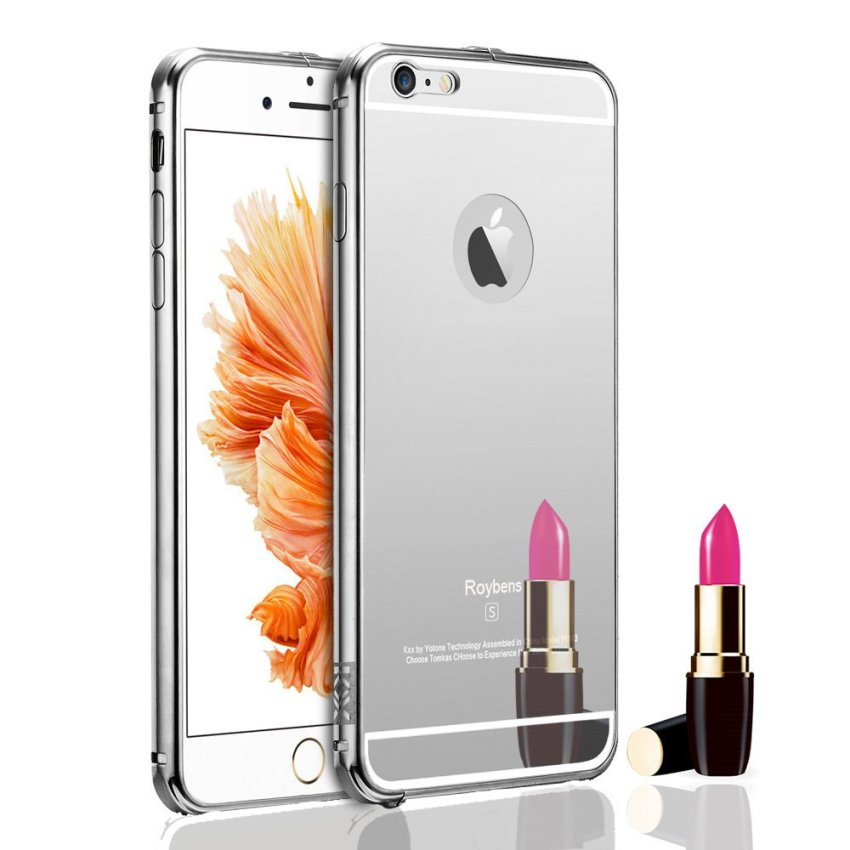 Roybens Ultra-thin Metal Slim Case for iPhone 6S Plus Silver (Intl)