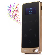 RUIZU X0.8G Digital MP3 Player Touch Screen Music Player FM Stereo Radio (Gold) - Intl