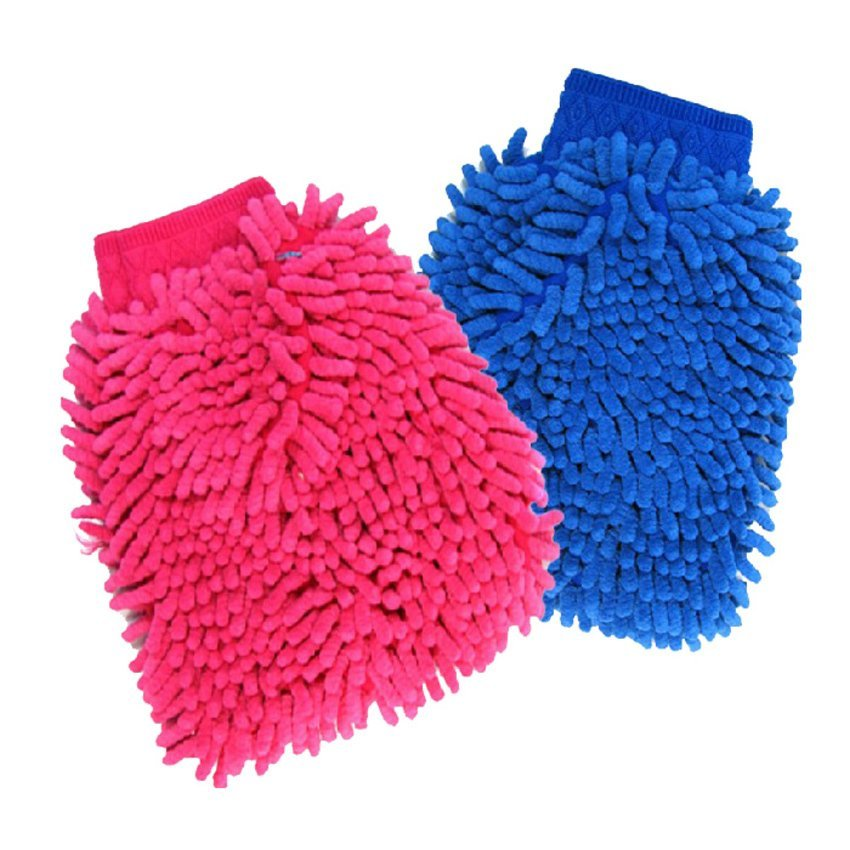 S & F 2015 Car Microfiber Auto Truck Cleaning Wash Mitten