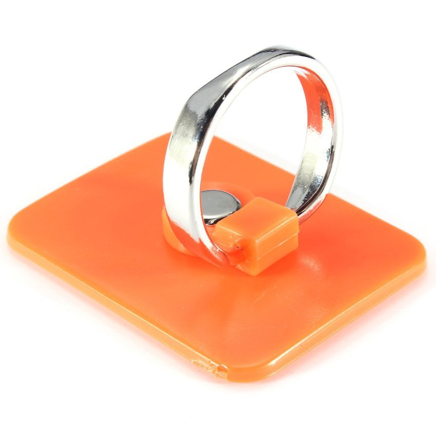 S & F 360 Degree Rotation 3D Ring Stand Mount Holder for Mobile Phone PDA (Orange) (Intl)