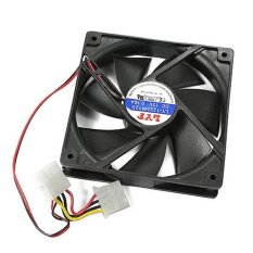 S & F Case 4 Pin Cool Cooler Cooling Fan For Computer PC - Intl