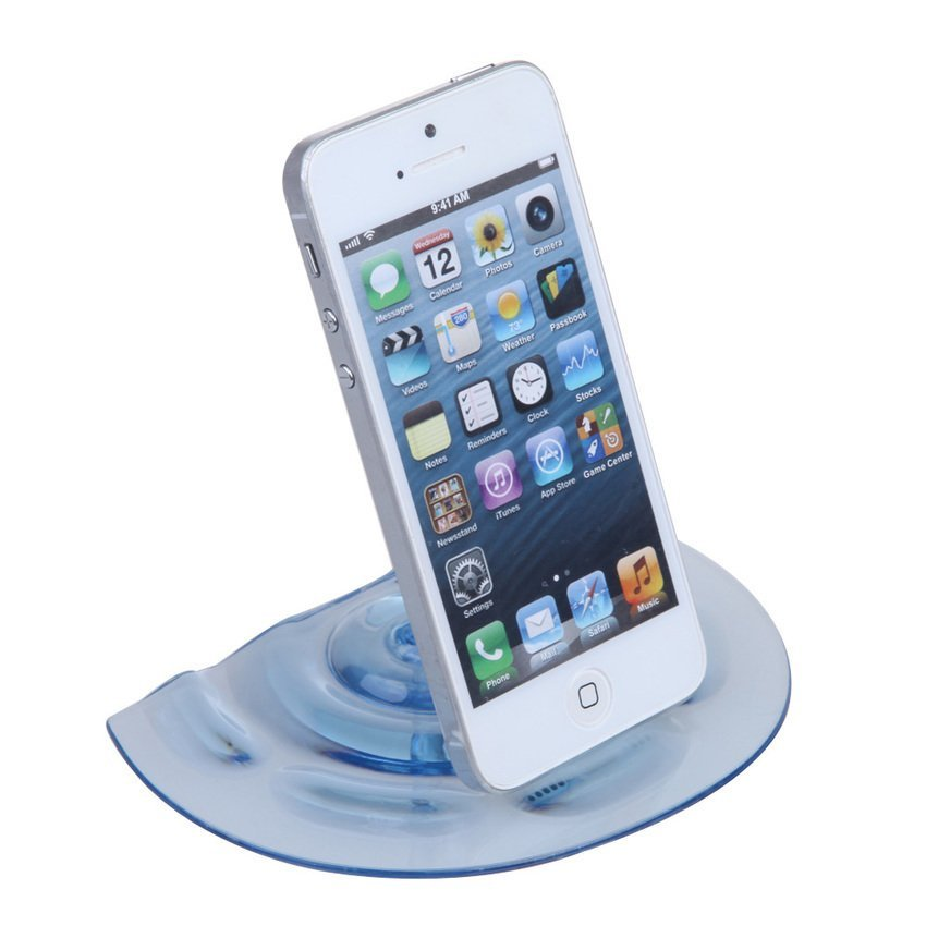 S & F Smart Stand Water Tap Faucet Holder for iPhone 5S 5 4S 4 iPod Samsung Blue (Intl)