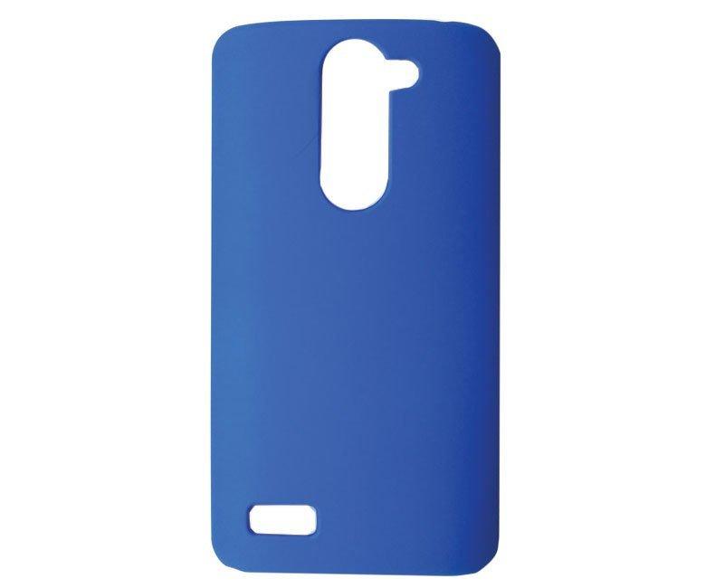 S-Ch LG L BELLO Hard Rubberized Case - Biru