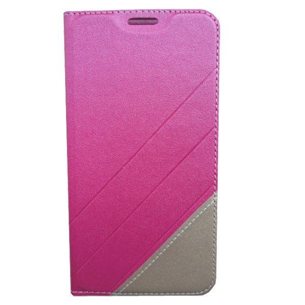 S-Ch ZTE Blade S6 Leather Flip Case - Pink