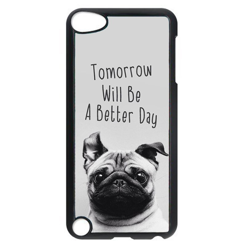Sadness Dog Phone Case for iPod Touch 4 (Black)