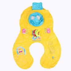 Safe Inflatable Mother Baby Swim Float Raft Kid`s Chair Seat Play Ring Pool Bath