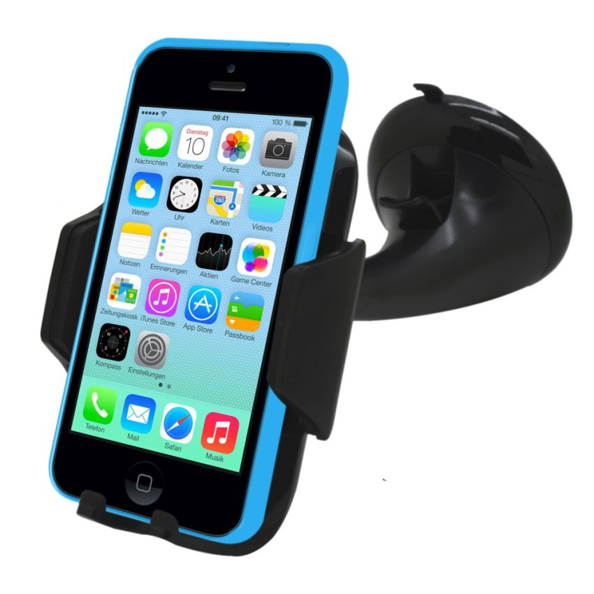Samrick 360 Degree Rotation Car Dashboard Mount/Holder for Apple iPhone 5C (Black) (Intl)