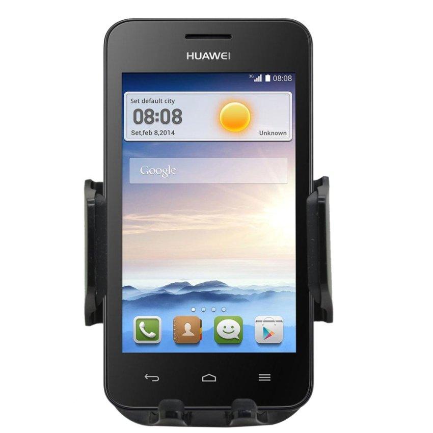 Samrick 360 Degree Rotation Car Dashboard Mount/Holder for Huawei Ascend Y330 (Black) (Intl)