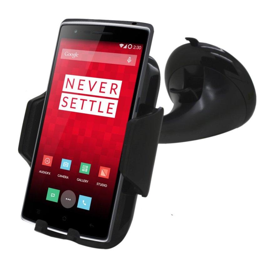 Samrick 360 Degree Rotation Car Dashboard Mount/Holder for OnePlus One (Black) (Intl)