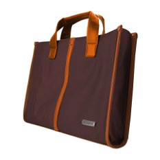 "Samsonite 15.6"" Top Loader T7250S - Brown Polyester"
