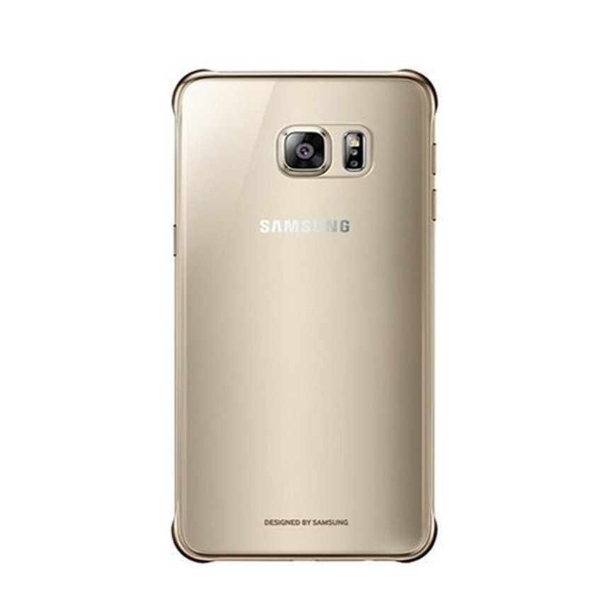 Samsung Clear Cover for Galaxy A8 High Quality - Gold