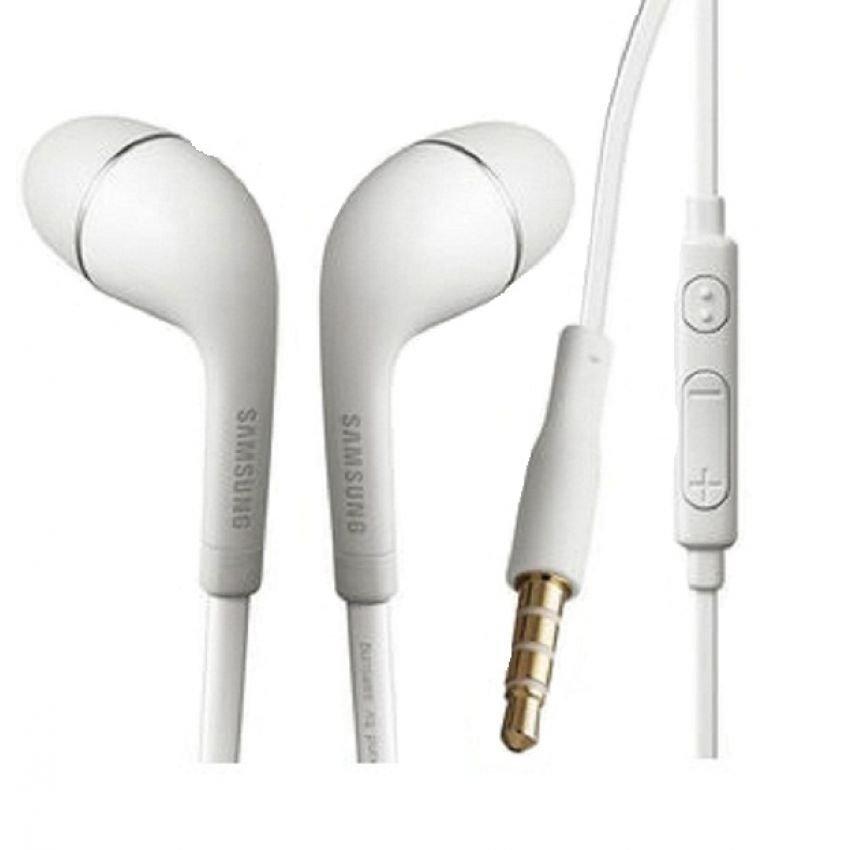 Samsung Earphone / Headset / Handsfree Stereo S4 / I9220 With Control Talk - Putih