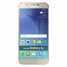 Samsung Galaxy A8 Dual SIM - 32 GB - Emas