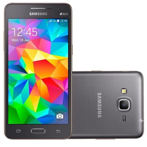 Samsung Galaxy Grand Prime Plus - 8GB - Abu-Abu
