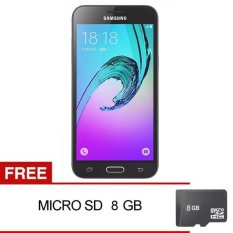Samsung Galaxy J3 2016 - 8GB - Hitam + Gratis MMC Sandisk 8GB