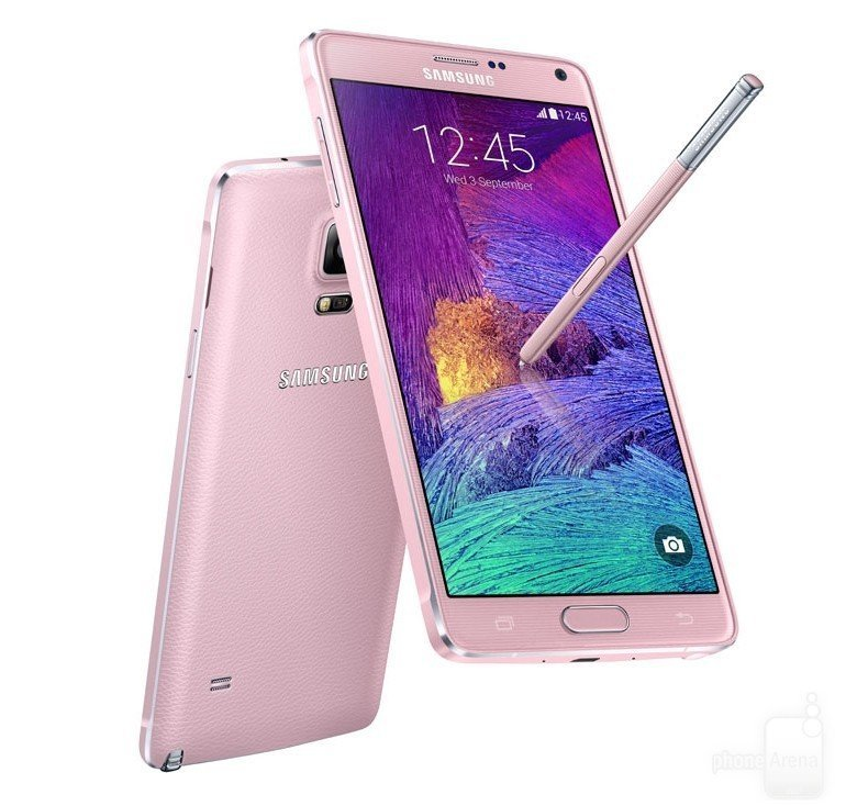 Samsung Galaxy Note 4 4G+ - 32GB - Pink