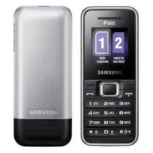 Samsung GT-E1182 Dual SIM - Hitam