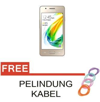 Samsung Z2 Smartphone - Gold [8GB 1GB]  Free Pelindung Kabel