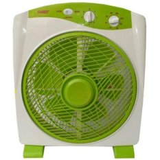 Sanex Box Fan 12 Inch - Hijau