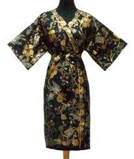 Sanny Apparel B 394 Kimono Batik - Hitam