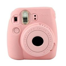 Sanwood Noctilucent Camera Cover For FUJIFILM Instax Mini8 Mini8s - Pink