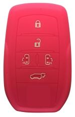 Sarung Kunci Silikon for Toyota All New Alphard - Pink