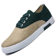Seanut Men's Fashion Breathable Casual Skater Shoes (Green)