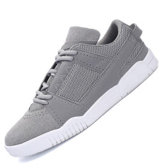 Seanut Men's Fashion Breathable Skater Shoes Casual Shoes (Grey)