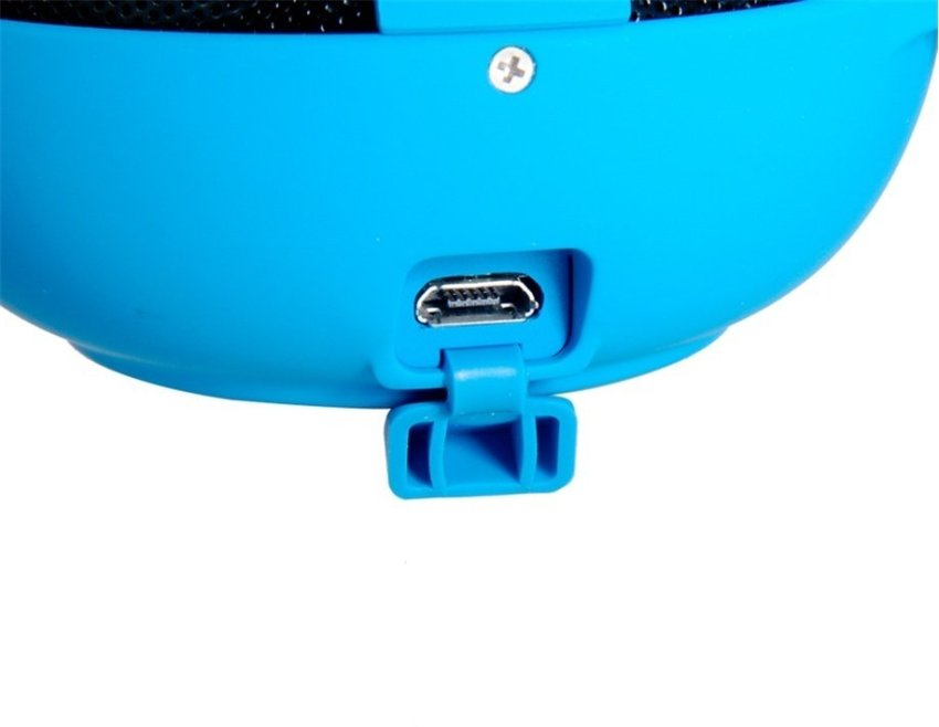 SEE ME HERE BV200 Mini Portable Bluetooth Speaker with TF Card Reader & Hook (Blue)