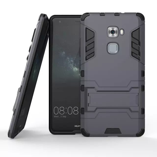 Shockproof Case with Stand for Huawei Mate S (Black) (Intl)