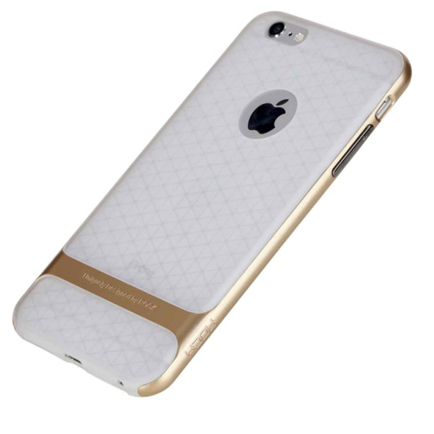 Shockproof Skin Rock Hybrid Case TPU+PC for Iphone 6s Plus (Gold)